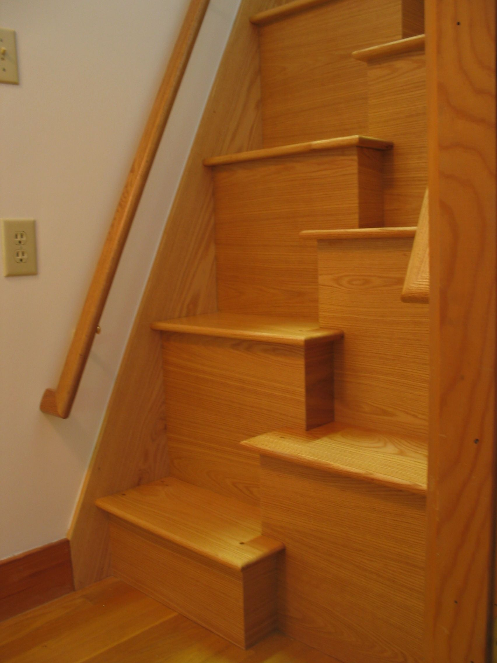 cheap alternating tread stair ideas http www. Black Bedroom Furniture Sets. Home Design Ideas