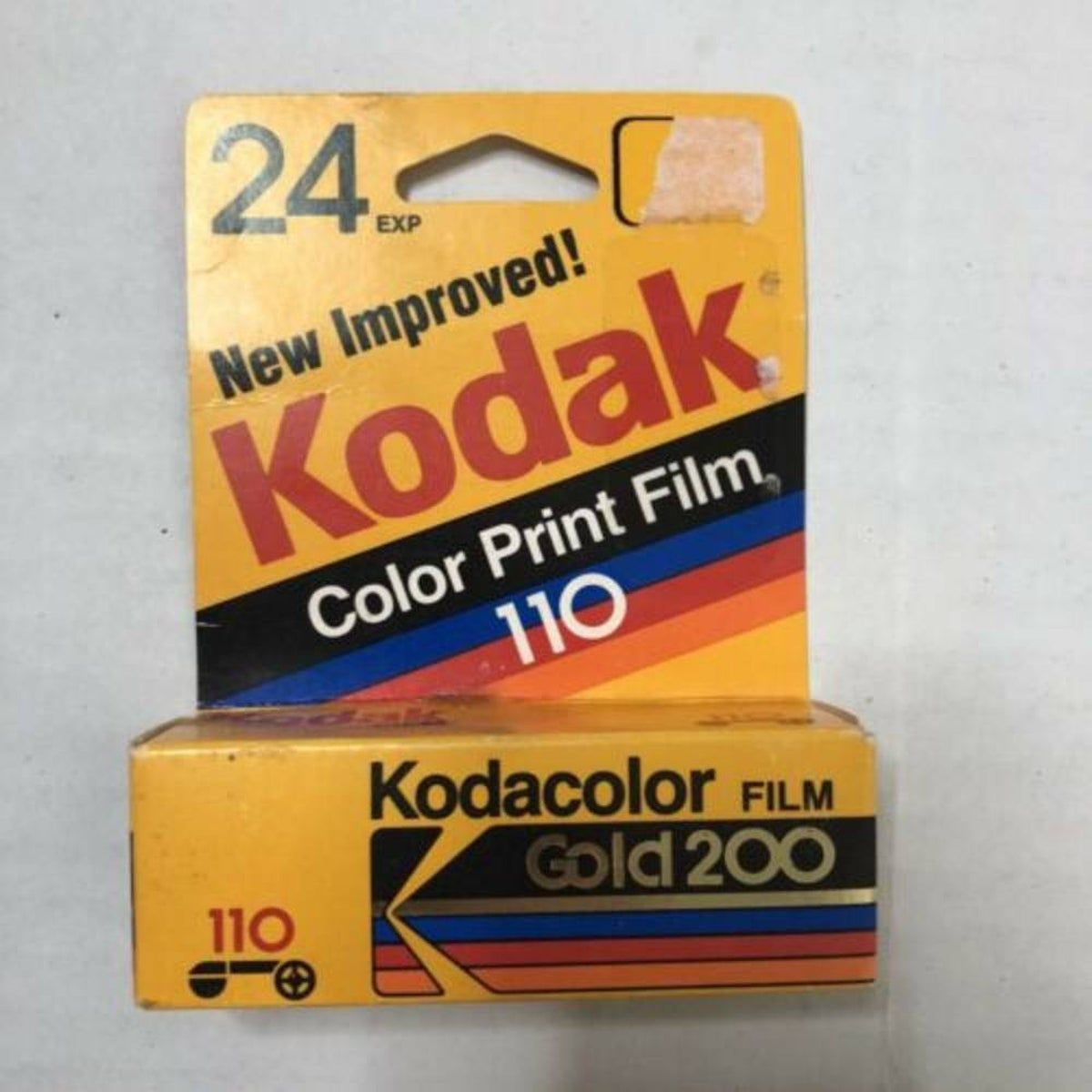 Vintage Kodak Color 110 Film 24 Exp On Mercari In 2020 Kodak Colorful Prints Film