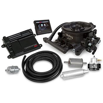 Holley Performance Products Terminator Efi 4bbl Throttle Body Fuelinjection System Master Kit Hard Fuel Injection Holley Fuel Injection Holley Performance