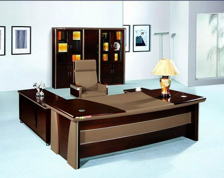 Modern office desk small home office desks office for Modern home office desks