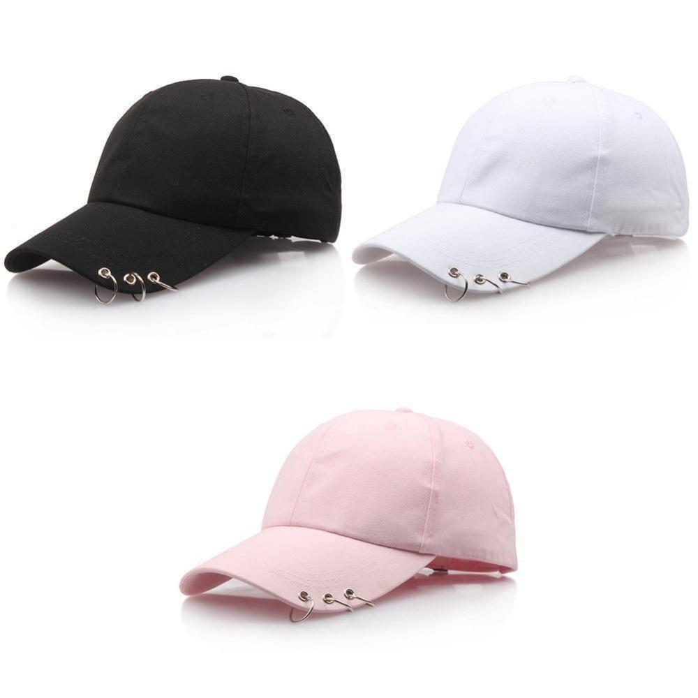 ae7212162 Men Women Baseball Cap Bboy Adjustable Casual Snapback Sport Hip-Hop Ball  Hat Baseball Caps Black Pink White