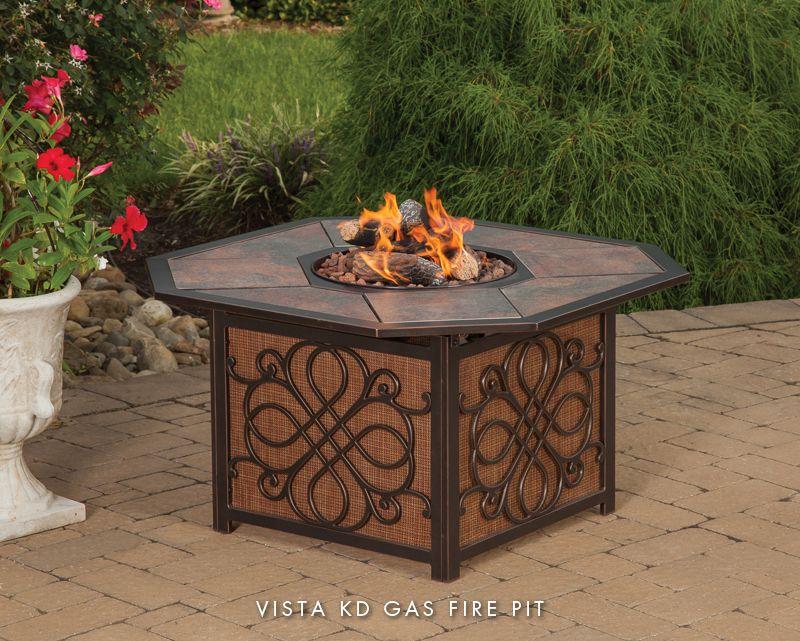Best Selling Home Decor Rectangular Propane Fire Table 56 Grey 296665 Rona