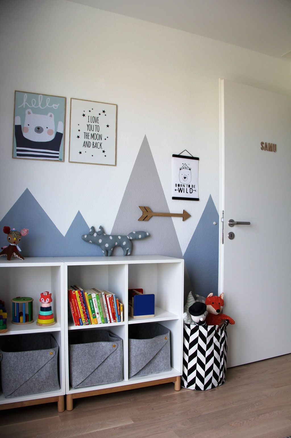 Babyzimmer Mint Grau Best Of Fotografie Kinderzimmer Inspiration nordic Berge Blau Grau Mint #toddlerrooms