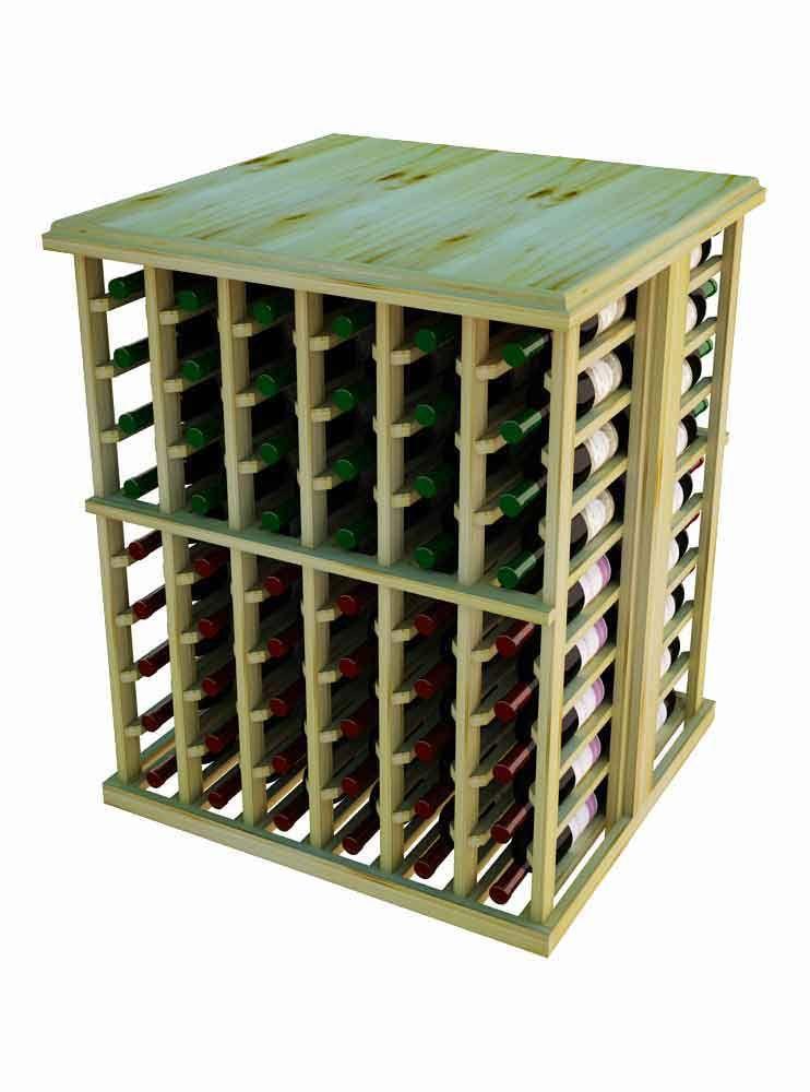 Designer series wine rack 108 bottle tasting table