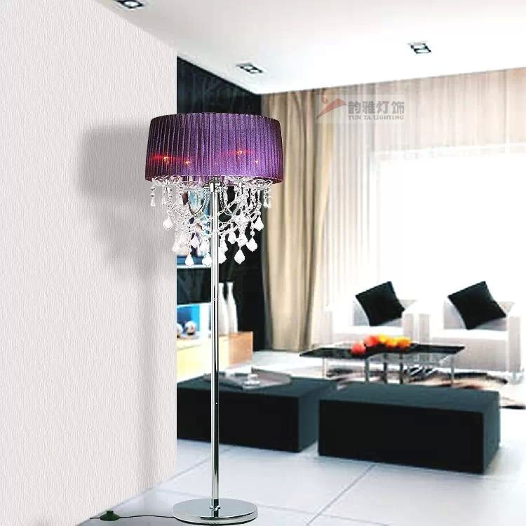 Cool Crystal Chandelier Floor Lamps