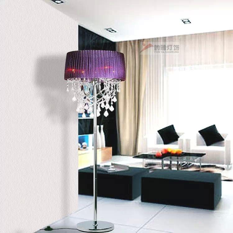 Cool crystal chandelier floor lamps selecting the best cool crystal chandelier floor lamps mozeypictures Gallery