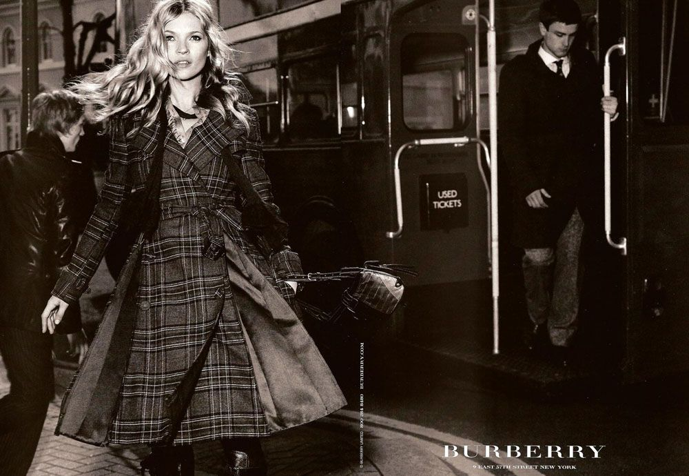 Burberry, Kate Moss - Fall 2005