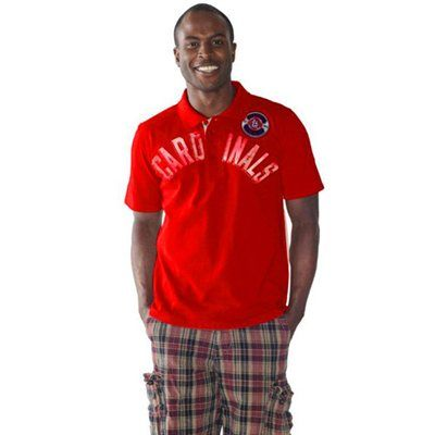 St. Louis Cardinals Rookie Polo - Red