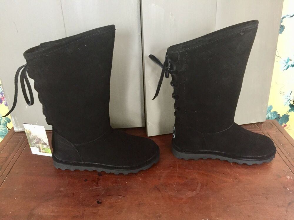 64b78f9cf64 Bear Paw Boots Philly Black Ladies Size 5 M New In Box EXC #fashion ...