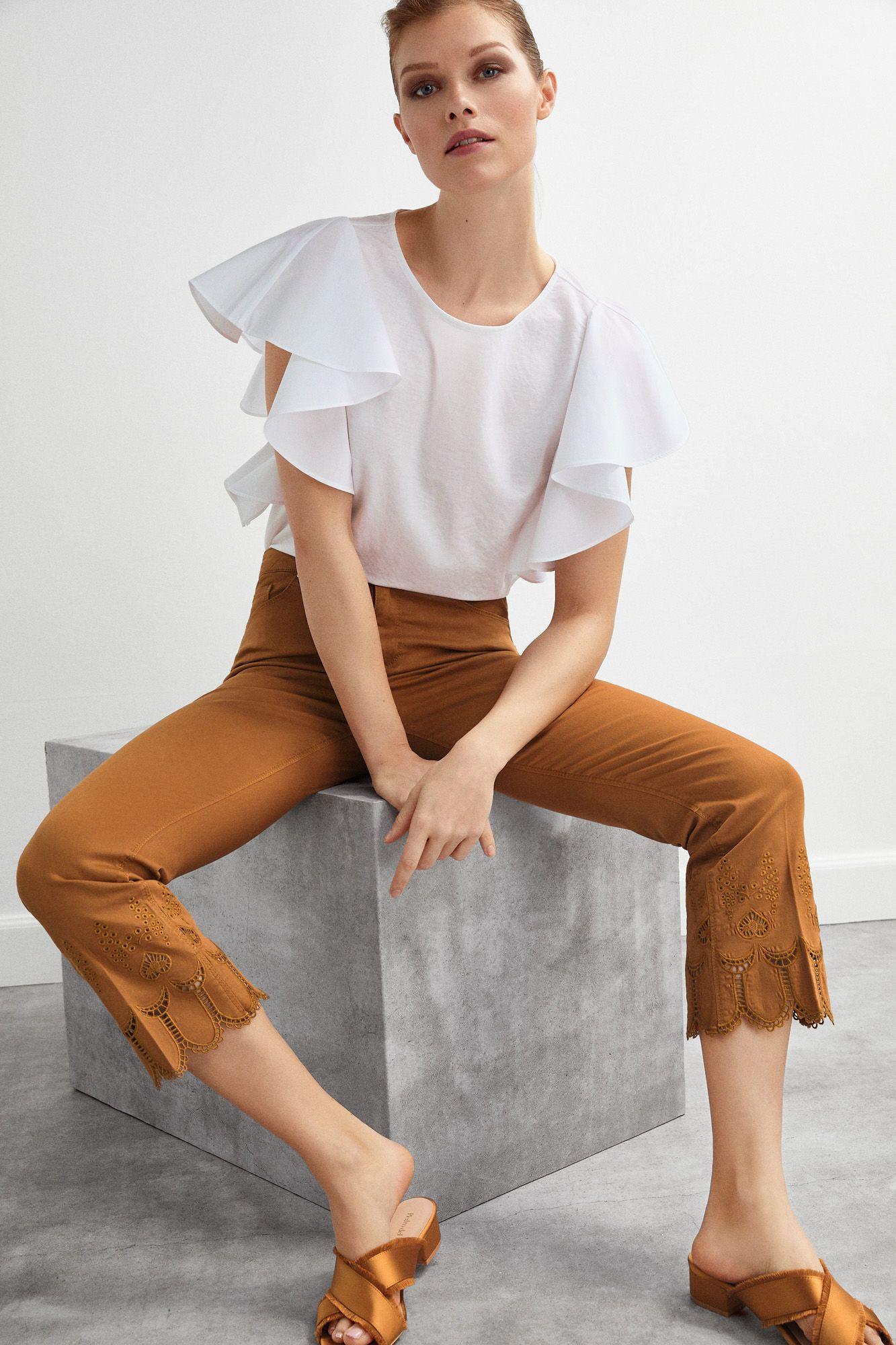 Catálogo Pedro Del Hierro Primavera Verano 2020 Moda En Pasarela Pantalones De Moda Mujer Moda Moda Verano