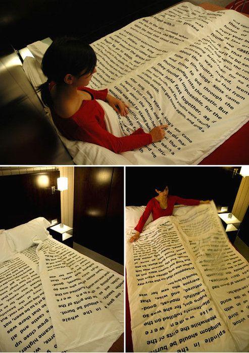 Reading in bed has never been easier.