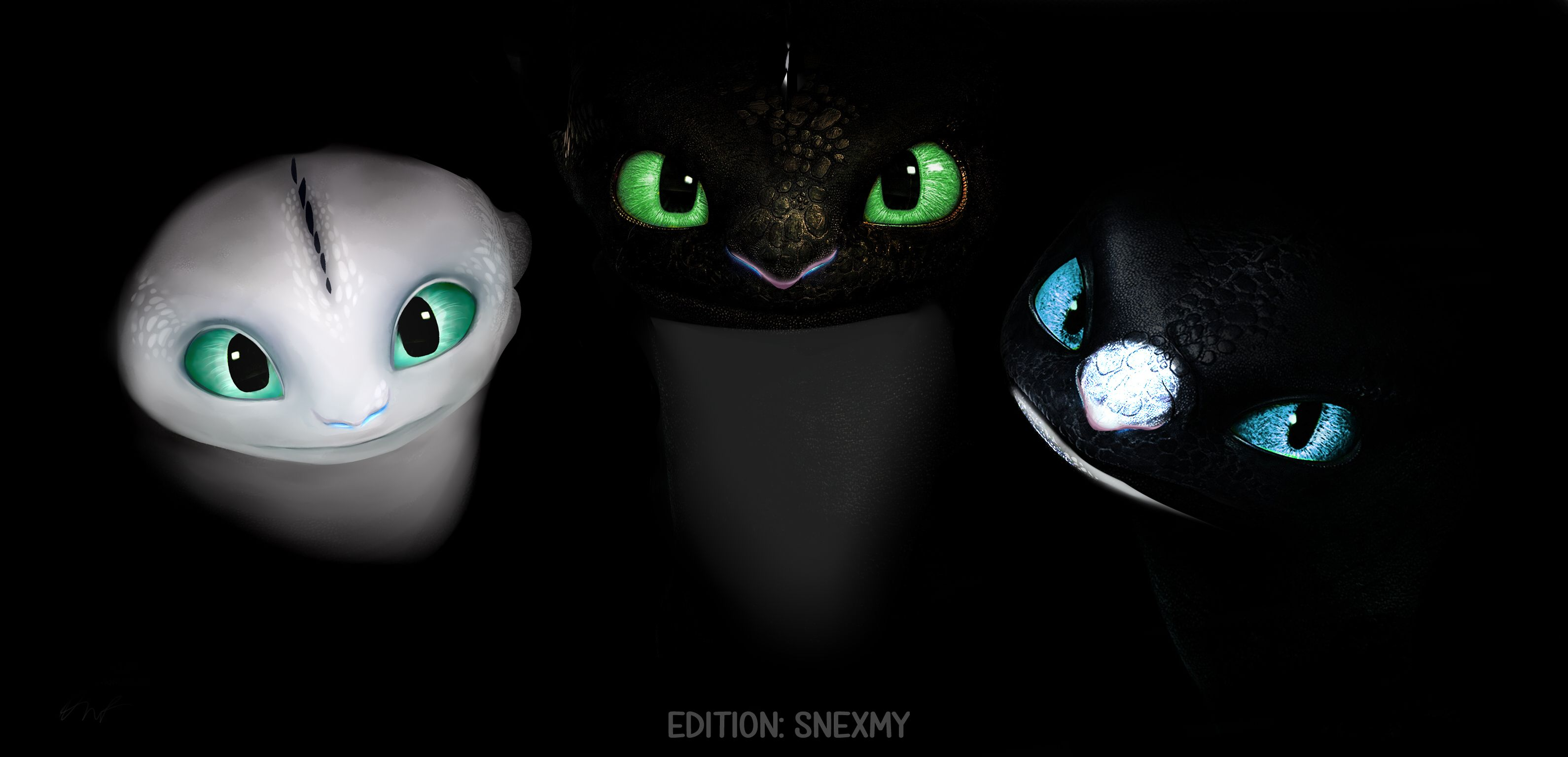Night Lights Httyd Edition By Snexmy Lunaless In 2019 How To