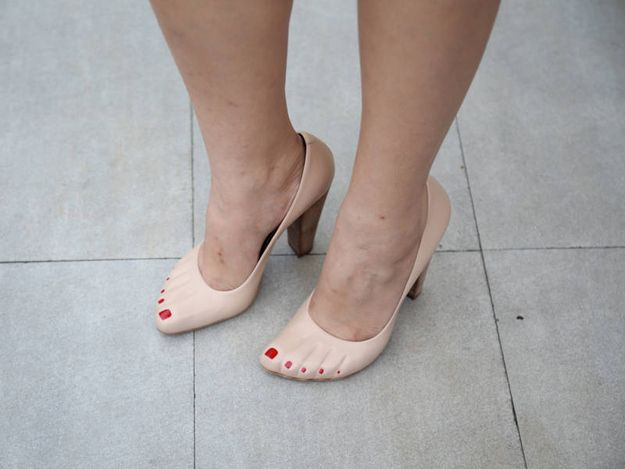 These shoes. | 33 Reasons We Should Maybe Be Worried About The Direction Of  Human