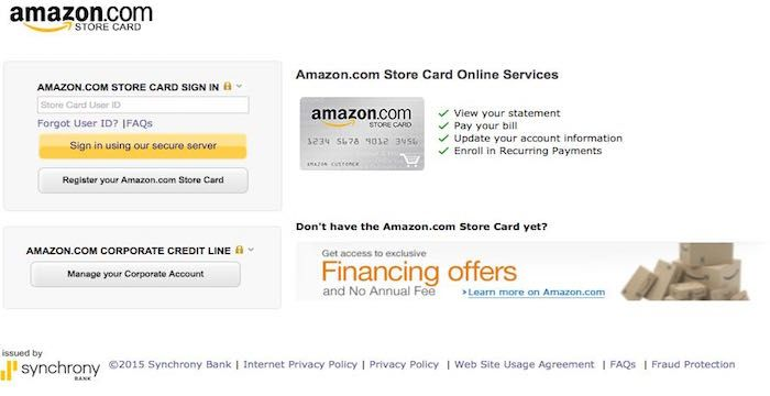 Amazon Store Card Bill Pay Login To Syncbank Com Online Amazon Store Card Paying Bills Amazon Card