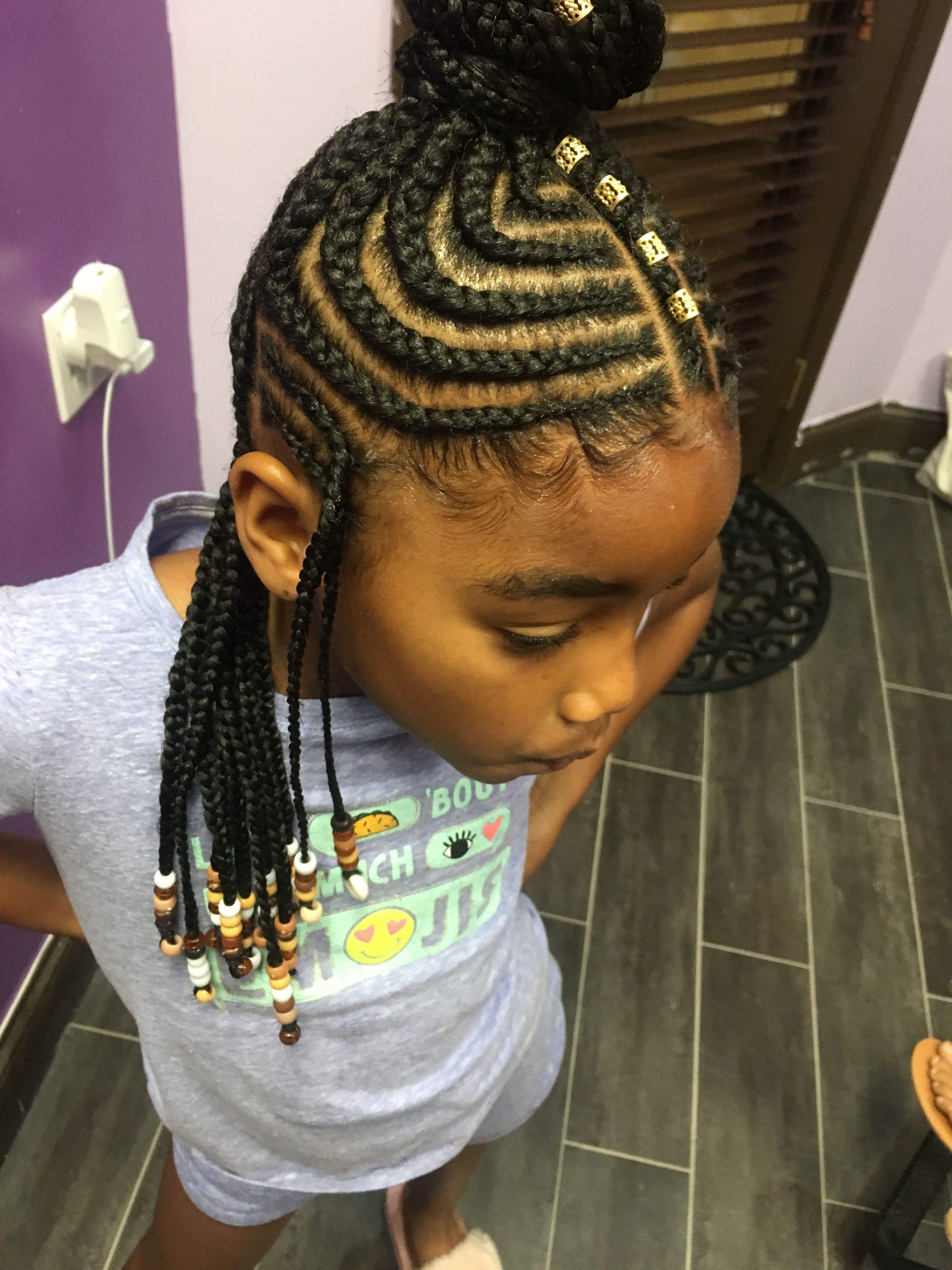 hairstyle for 7 yrs old black girl | long healthy hair
