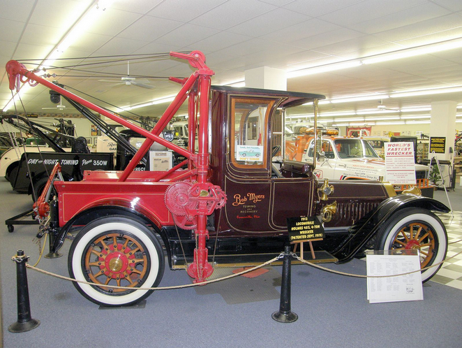 First Trucks Modified 1913 Locomobile One Of The Tow Holmes Made