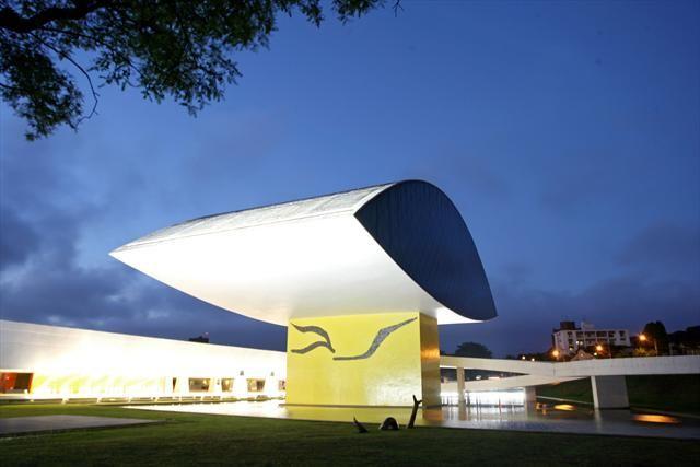 Na Imagem O Museu Oscar Niemeyer Foto Orlando Kissner Smcs