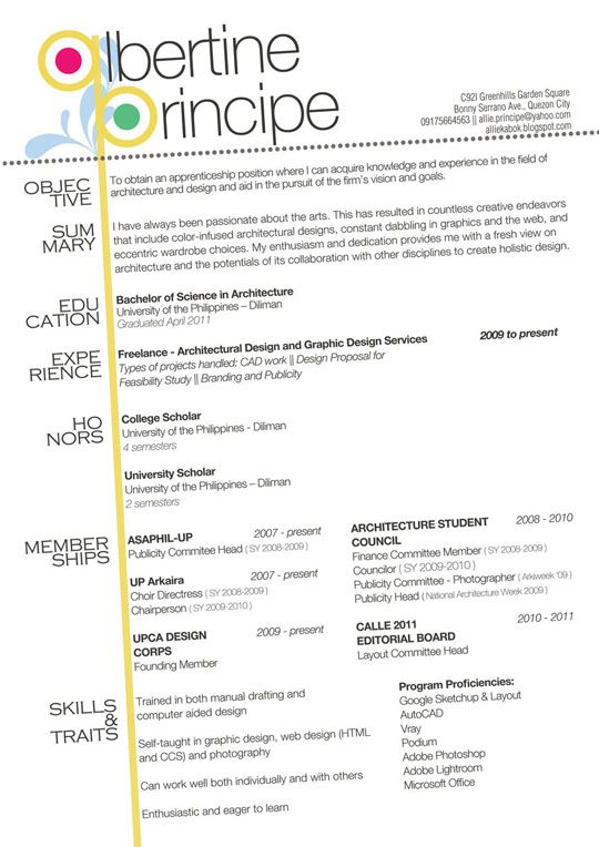 78 Best Images About Creative Resume Designs On Pinterest