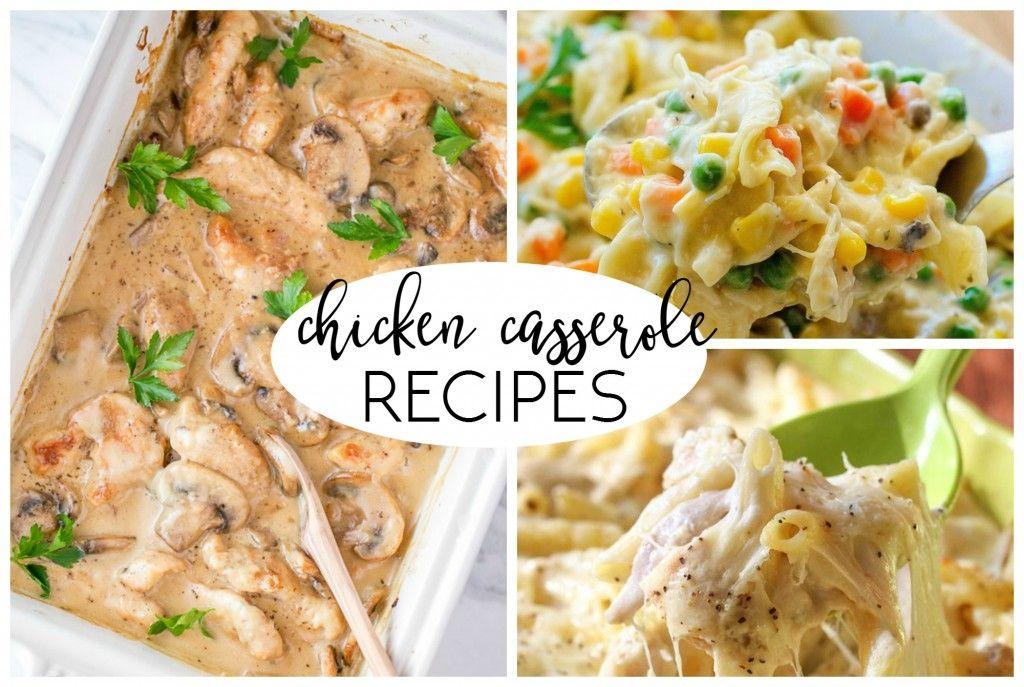 easy chicken casseroles (1)