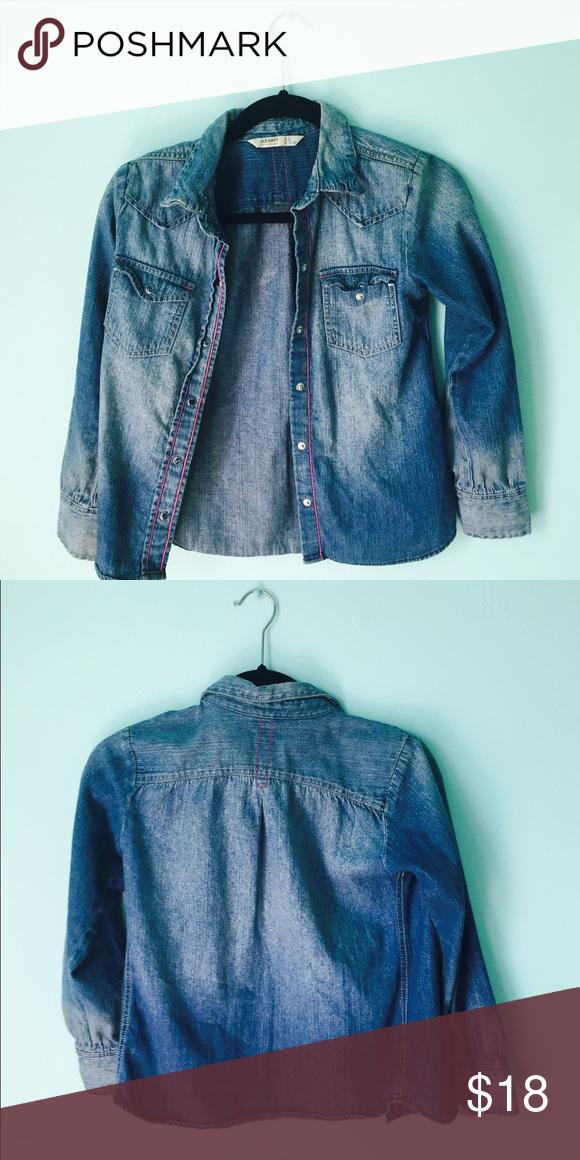 Blue Old Navy Jean Jacket Size 10/12 blue jean jacket from Old Navy. Old Navy Jackets & Coats Jean Jackets