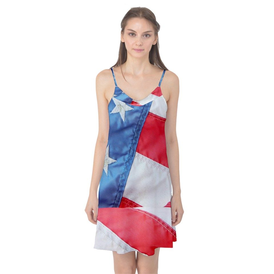 Folded+American+Flag+Camis+Nightgown