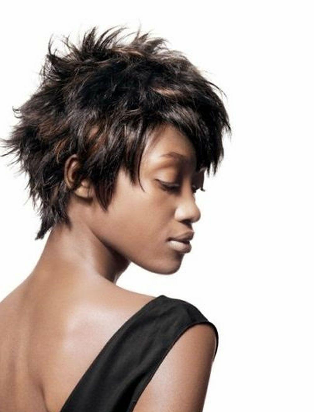 Pixie Haarschnitte Für Schwarze Frauen Für Feines Haar 1