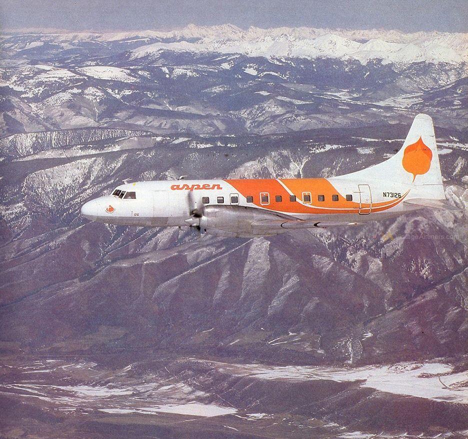 Aspen Convair 580 In 2020 Air Birds Aviation History Aviation