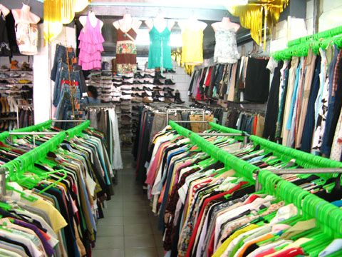 Ukay-ukay. A second hand clothes, shoes etc. You can buy this