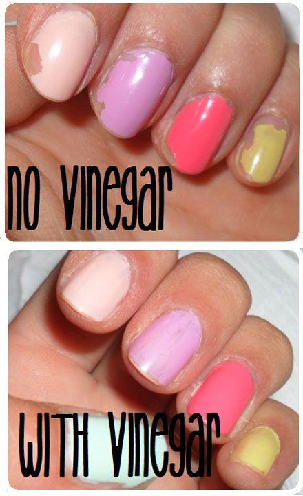 Pinter-Test: Does Vinegar Really Make Your Manicure Last Longer ...