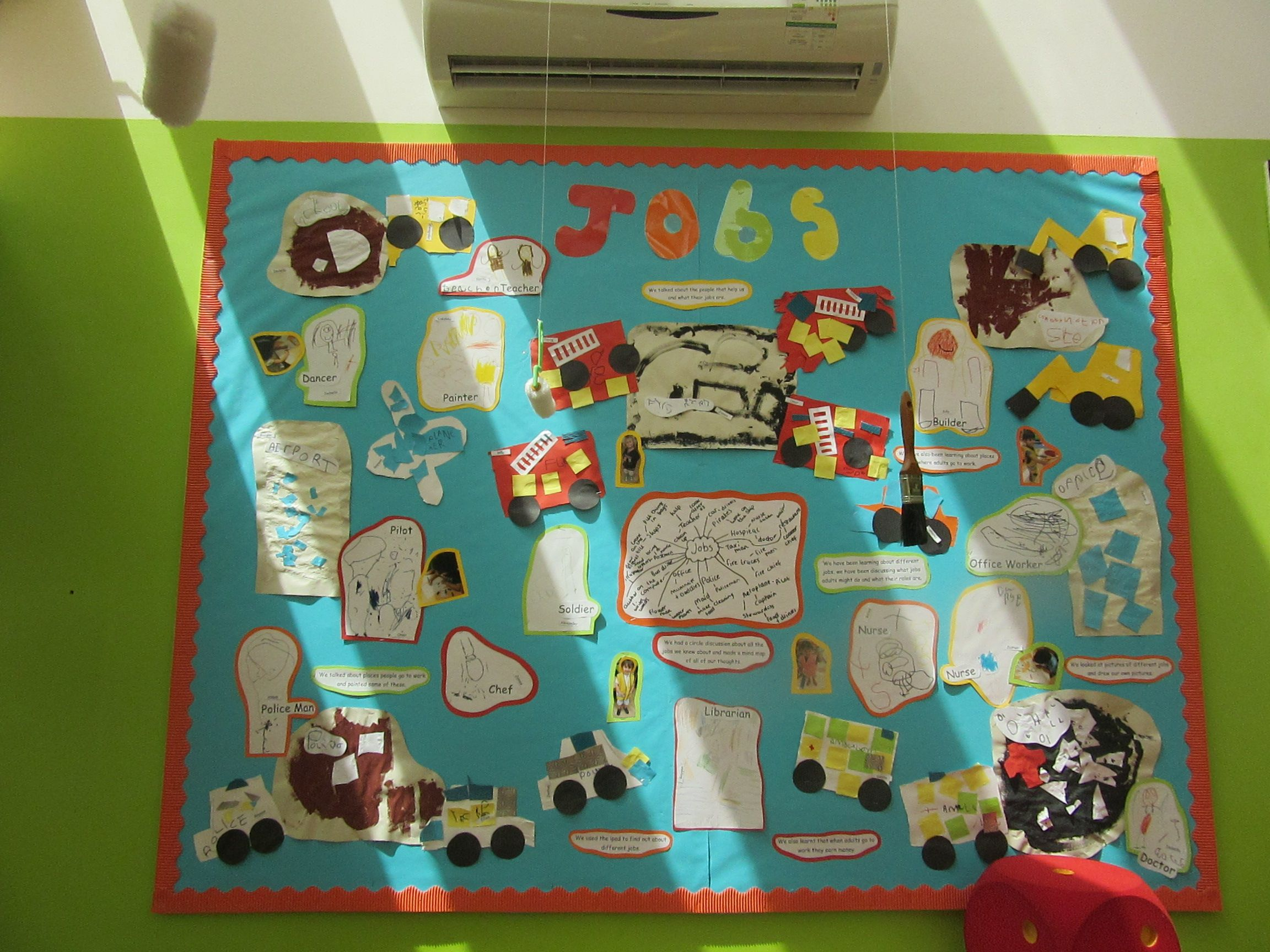 Jobs occupations and people who help us display eyfs
