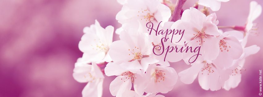 Spring Accommodation Facebook Covers: Happy Spring Facebook Cover