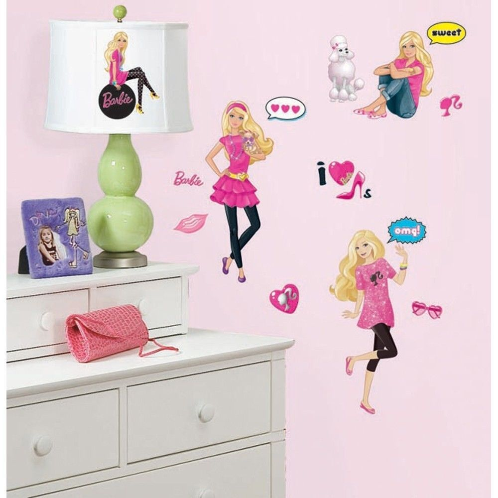 BARBIE Doll 29 BiG Wall Decals Lacey the Chihuahua, Poodle ...