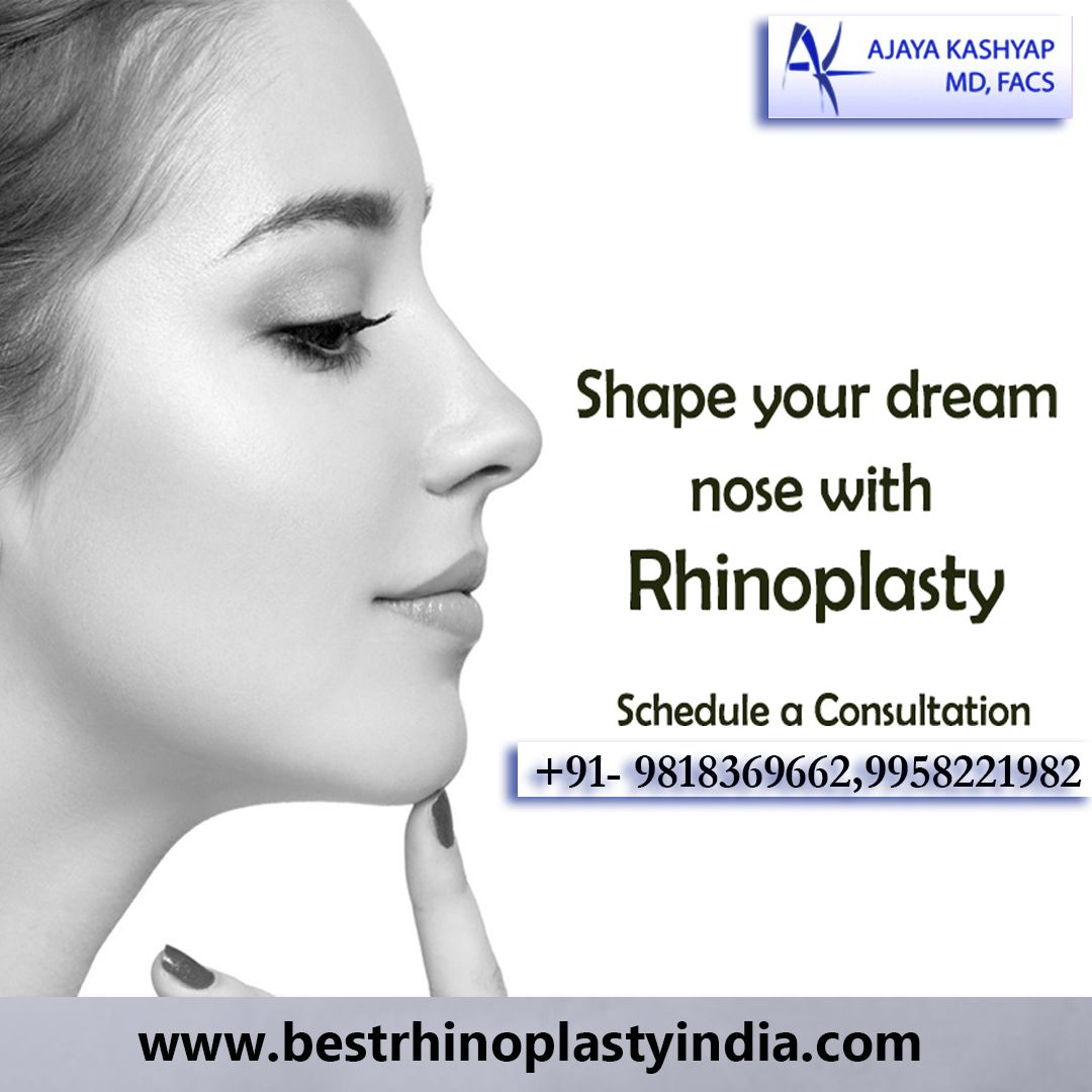 Shape your Dream Nose with Rhinoplasty Call Today in 2020