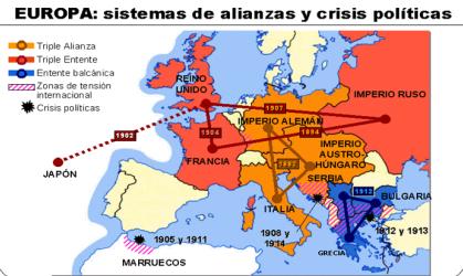 Mapas Primera Guerra Mundial