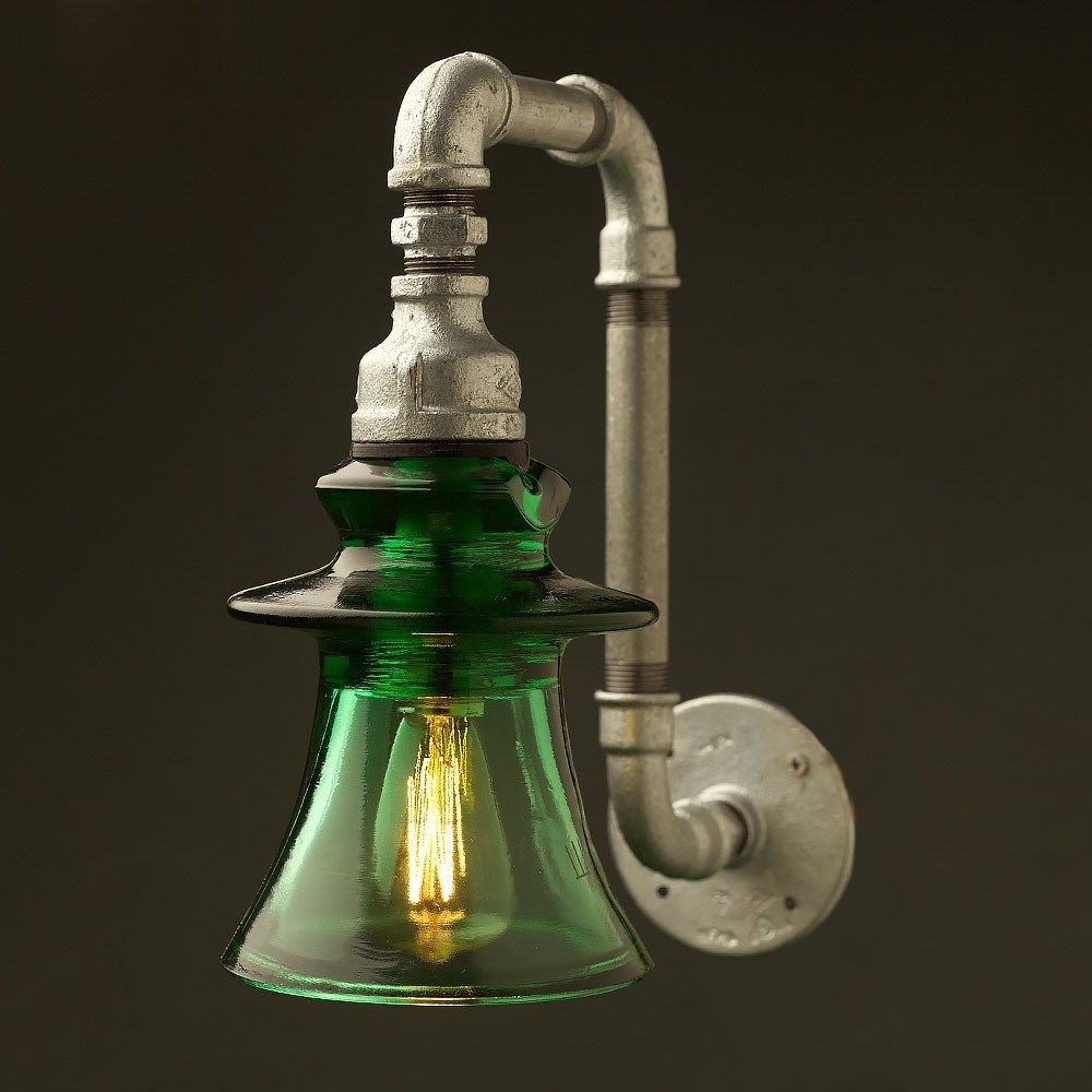 Photo of Plumbing Pipe Insulator Wall Light