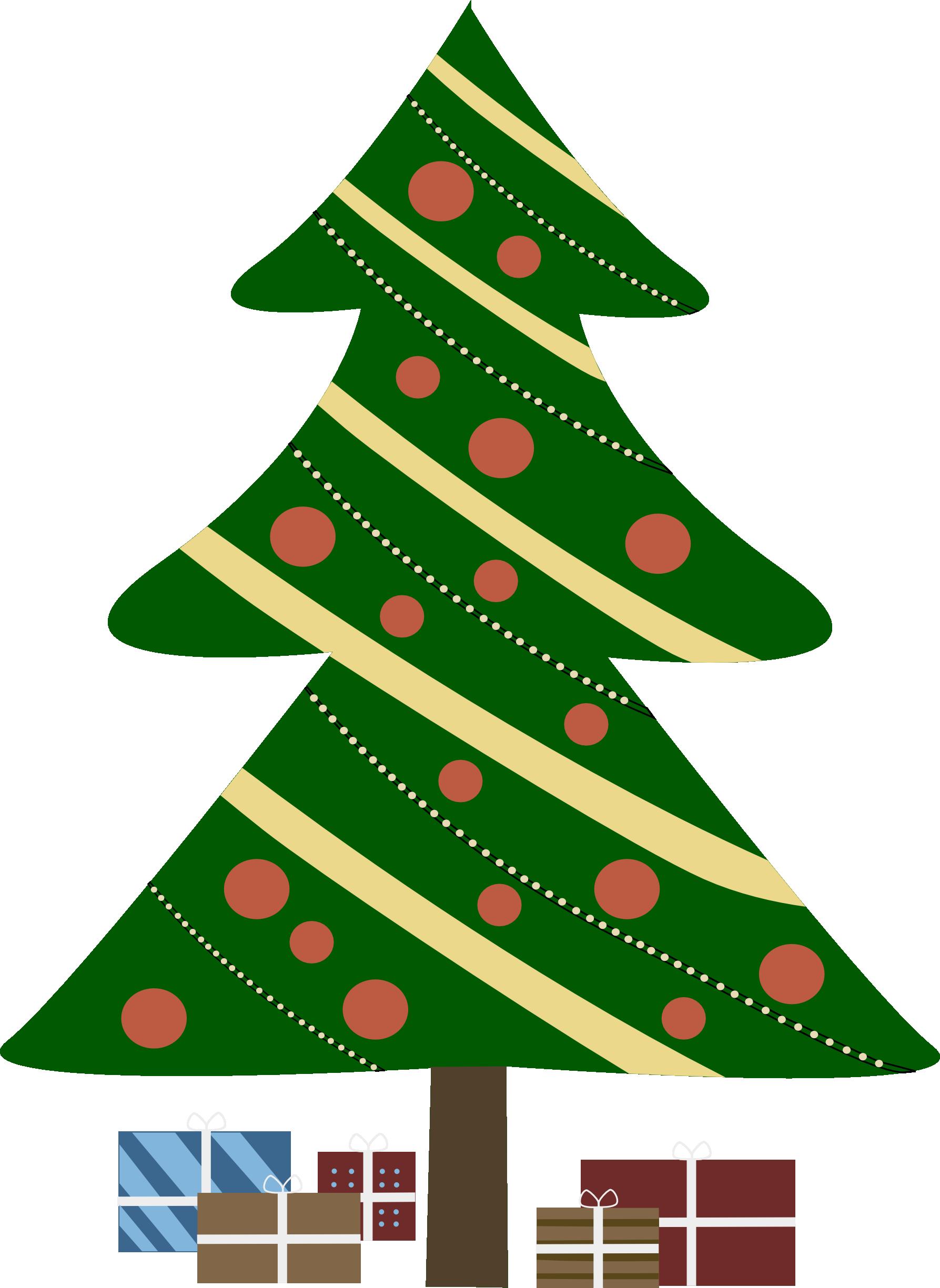 Arbol Animated Christmas Decorations Cartoon Christmas Tree Christmas Tree Images