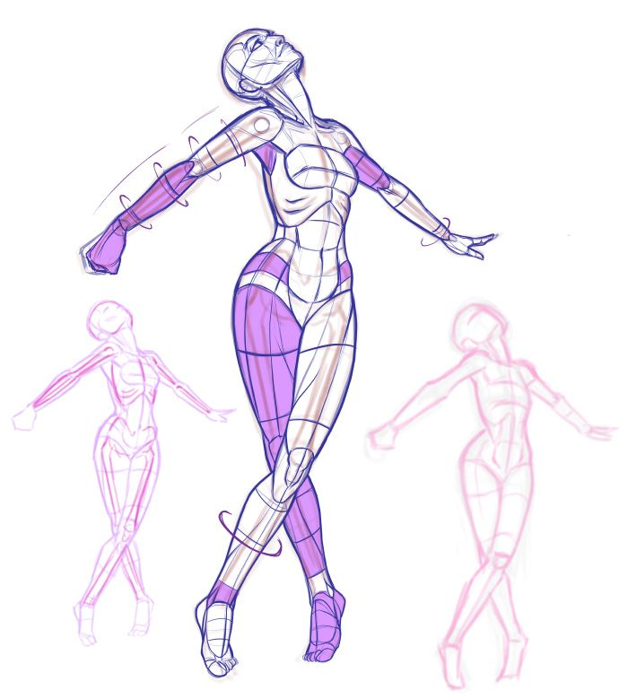 These poses are part of my personal art-challenge...10,000 poses. I ...