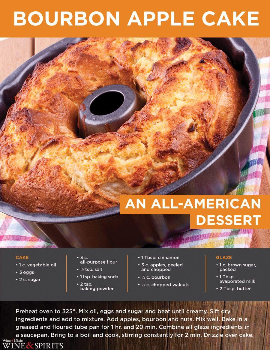 Bourbon Apple Cake - Rich with flavor - an all-American dessert ...