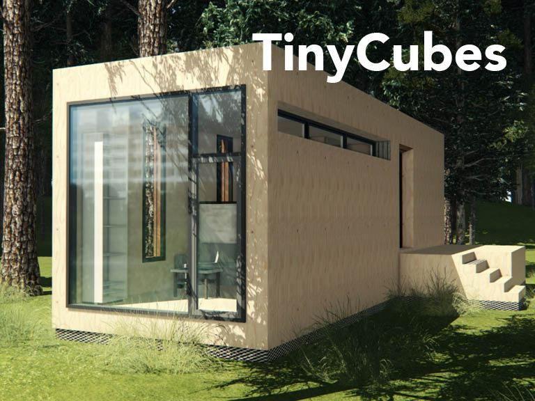 Mobiles Raumwunder Steigende Mieten Platzknappheit Wir Haben Die Losung Tinycubes Nachhaltige Mobile Und Leistbare Platz Kleine Gebaude Haus Fertighauser