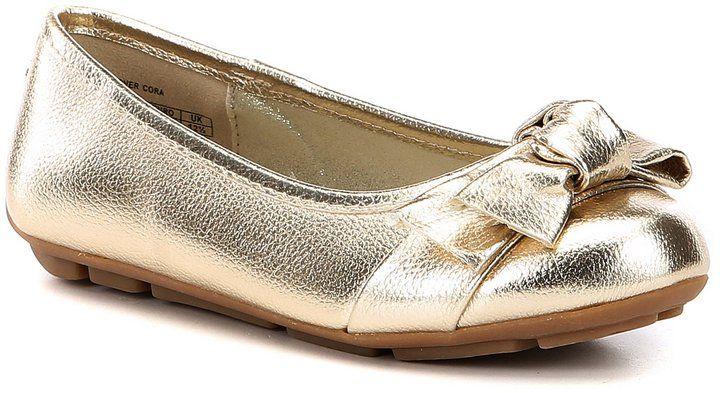 7c7ce99726107a Flats · Ballet Shoes · Ballet Dancers · MICHAEL Michael Kors Girls Rover  Cora Ballerina Shoes