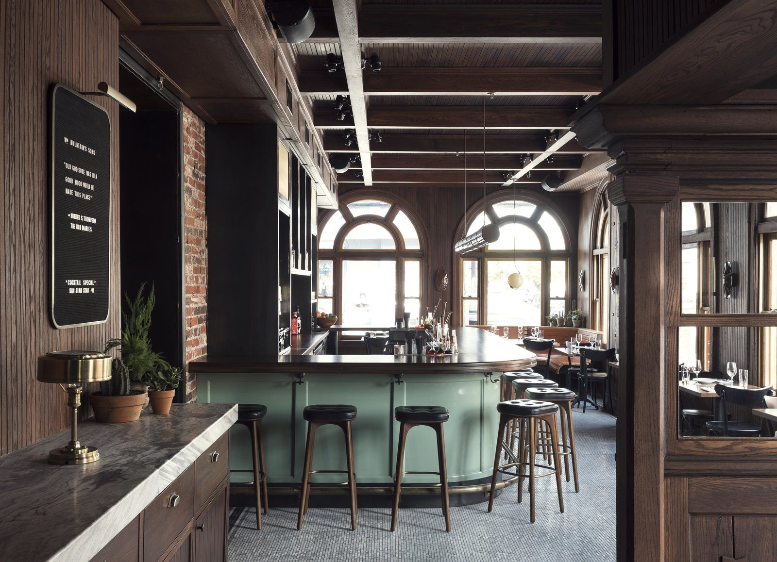 history and modernity meet in this industrial hotel and restaurant