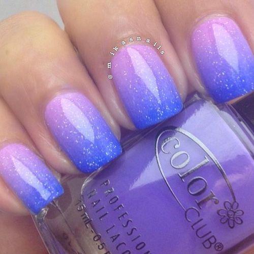 Ombre Design 70 top best ombre matte glitters nail ideas design 2017 | nail