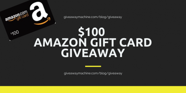 100 Amazon Gift Card Giveaway Gift Card Giveaway Amazon Gift Cards Amazon Gifts