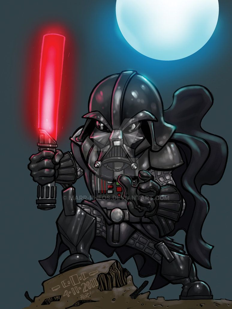 Darth Vader colored by MARR-PHEOS on DeviantArt