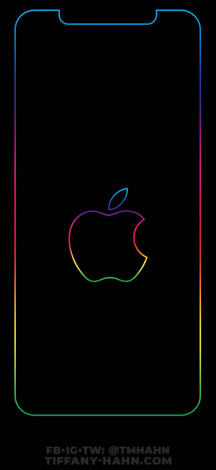 This Wallpaper Will Perfectly Fit The Iphone Xs Max In Zoomed Mode Settings Disp Rainbow Wallpaper Iphone Iphone Homescreen Wallpaper Apple Wallpaper Iphone