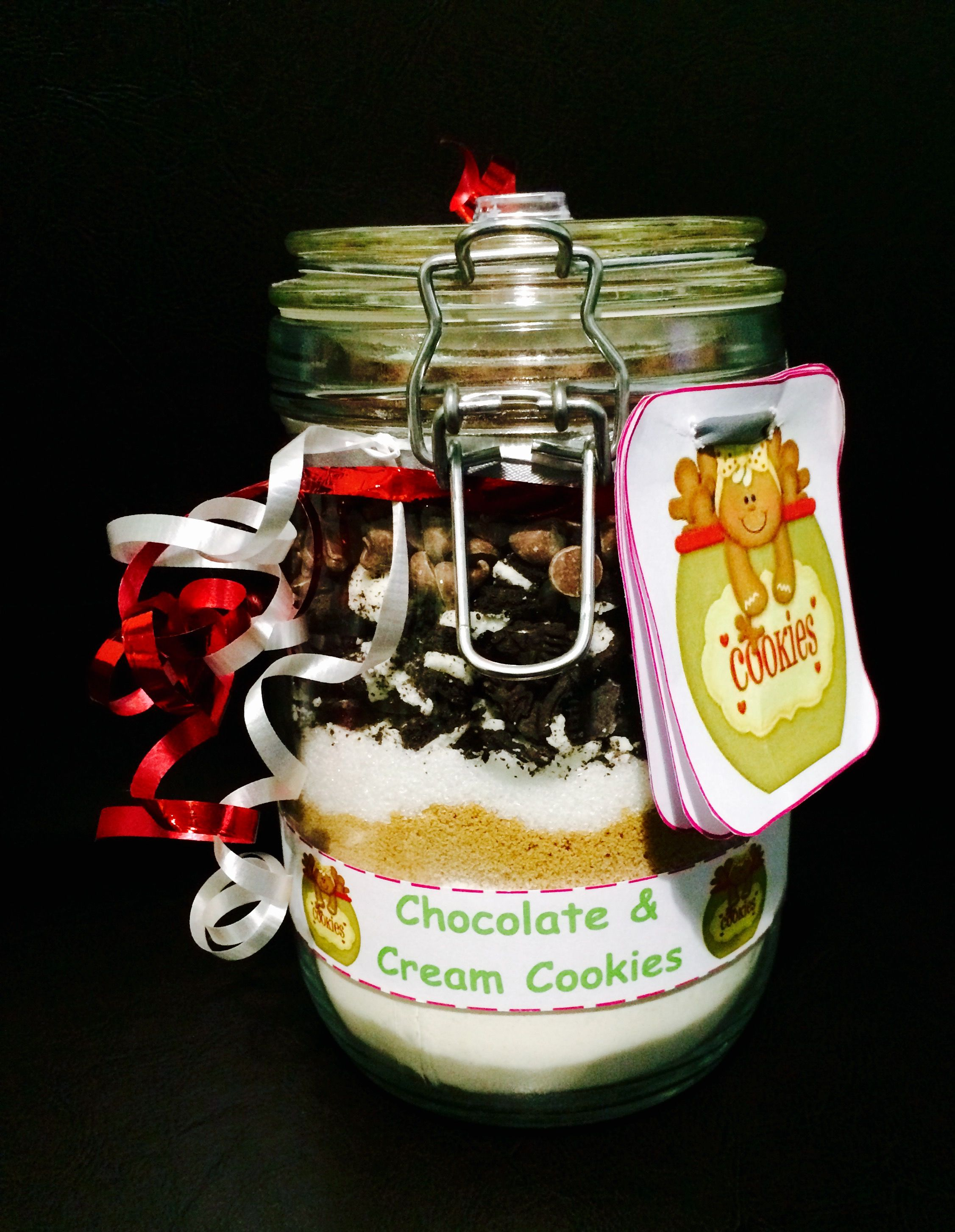 Cookies mix in a jar (1litre)