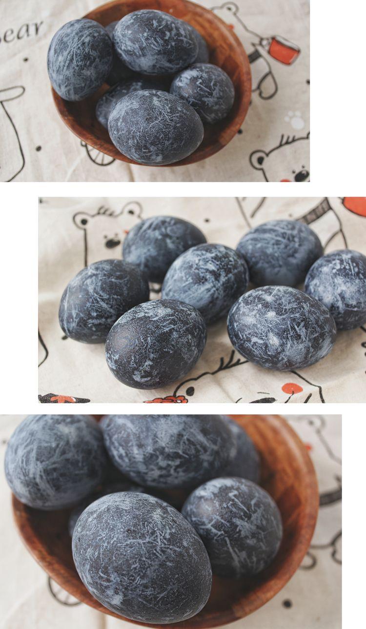 как покрасить яйца в чае каркаде