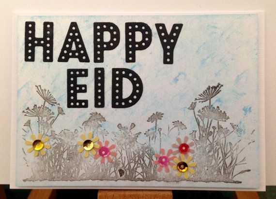 happy eid handmade greeting card awesome etsy listing at