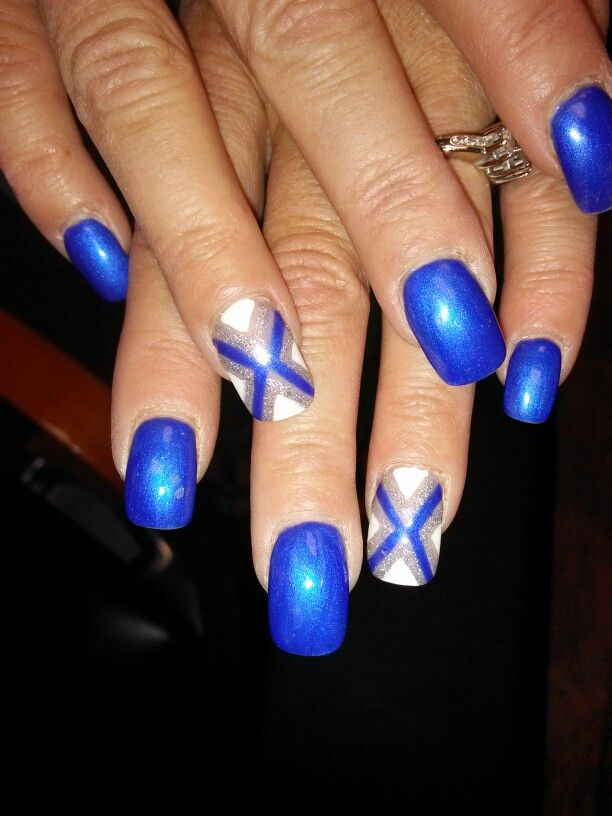 Detroit Lions Lion Nails Ie Style Nail Designs Salons