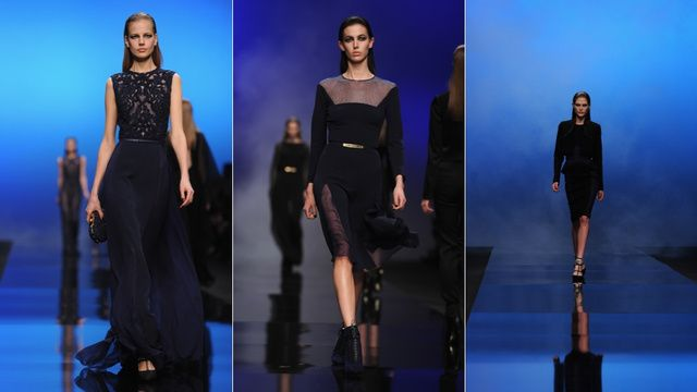 Gorgeous, on the left...Elie Saab, for the No Nonsense Badass Bitch in You